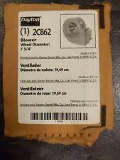 Dayton Blower Less Motor Model 2c862 7 34 Inch Wheel Diameter New Condition