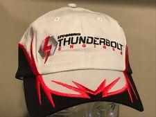 LYCOMING Thunderbolt Engines Pilots Racing Red Grey Black Bar Golf Hat Cap NEW