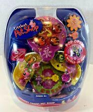 Butterfly Garden Teeniest Tiniest Littlest Pet Shop retired Caterpillar too! NEW