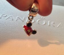 New Pandora 2017 Disney Parks Mickey Mouse Ear Hat Pendant dangle charm Bead