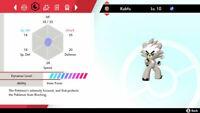 KUBFU ISLE OF ARMOR 6IV Battle Ready Pokemon Sword/Shield NEW DLC TRADING NOW