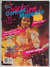 The Jackson Concert Magazine, Fall 1984, Michael Jackson Reveals!  Victory Tour!
