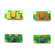 4pcs Drum Image Unit  Reset Chip For Konica Minolta Magicolor 7400 7440 7450
