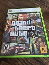 Grand Theft Auto IV Xbox 360 Cib Game XG3