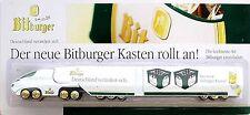 Bitburger Colani Future Roadtrain-HZ - Der neue Kasten rollt an! 2004 (OVP) NEU
