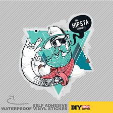 L'ARTE Hipsta Hipster Uomini Urban Vinyl Adesivo Finestra Decalcomania Auto Van Bici 1969