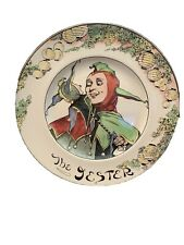 """Royal Doulton Professional Series 6000 The Jester plate, 10 5/8"""", D6277, Euc"""