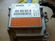 AUDI A6 C5 ALLROAD AIRBAG CONTROL UNIT MODULE ECU AIR BAG BOSCH 4Z7959655M