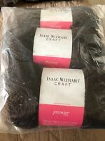 3 SKEINS PREMIER BROADWAY SPARKLY ISAAC MIZRAHI YARN PALACE 3.5 OZ/328 YDS EA