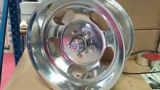 "15"" US INDY INDIES MAGS POLISHED JELLY BEAN  WHEELS  FORD GASSER  HOT ROD RIMS"