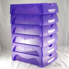 High Quaility Optical Lab 5pcs Purple Job Trays Optician Glasses Store Necessary