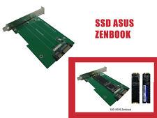 Adaptador SSD Asus Zenbook a SATA 3.0 - SSD 6 + 12 clavijas Sandisk y Adata
