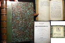 1825 HISTOIRE DU SACRE CHARLES X FRANCE WITH PLATES 1ST EDITION F.M. MIEL