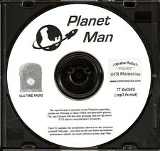 THE PLANET MAN - 77 Shows Old Time Radio In MP3 Format OTR 1 CD