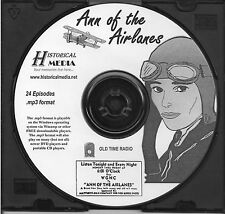 ANN OF THE AIRLANES - 24 Shows - Old Time Radio In MP3 Format OTR On 1 CD
