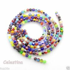 Millefiori Glass & Lampwork Round Jewellery Making Beads