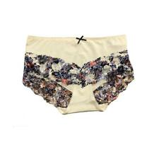 FREE POST 4 EX STORE LADIES BLACK LOW-RISE COTTON MIX BRIEFS,KNICKERS,SIZE 16