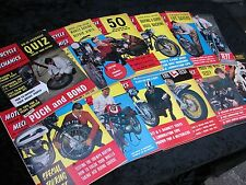 Motorcycle Mechanics 1962 Full Year Every Issue. Job lot. Collection.