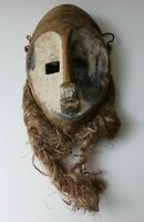 alte Holz-Maske der Lega, Kongo - Afrika - old african tribal art mask (09)