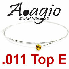 MultiPack Of 5x Spare Single .011 Guitar Strings For Acoustic Electric Adagio