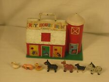 "Vintage Marx Key House Farm With Animals Missing Dog ""Look"""