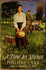 Time for Silence by Philippa Carr (1991, Hardcover) Great Read