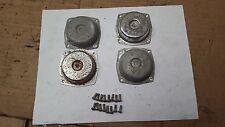 87 88 Honda  V45 super magna VF700 vf750 carburetor slide top cover covers set