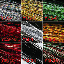 Maxcatch Fly Tying Material 9 bags Lure Making Material Holographic Flashabou