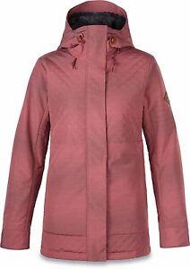 Dakine WILLOW Womens PrimaLoft Hoodie Jacket Medium Burnt Rose NEW
