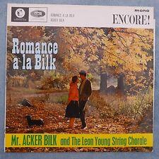 """Acker Bilk - Romance a la Bilk, 1962, 12"""" mono LP, EMI Encore ENC 2009"""