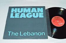 """THE HUMAN LEAGUE The Lebanon / Thirteen 12"""" Maxi Single Virgin Canada VSX-1186"""