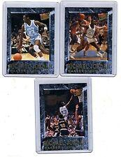 2013-14 Fleer Retro Michael Jordan Career Highlights Insert Lot (3) Cards