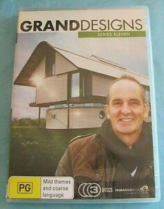 GRAND DESIGNS Series 11 DVD Region 4 see below