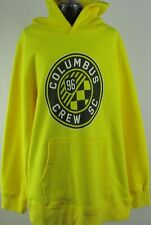Columbus Crew SC Youth's Yellow Mid-Weight Pullover Hoodie