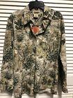 Game Guard Women Small Desert Camo 100% Cotton Button Up Tailored LS Shirt NWT