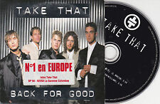 CD CARDSLEEVE TAKE THAT ROBBIE WILLIAMS BACK FOR GOOD 2T FRENCH STICK