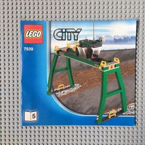 LEGO 7939 CITY Cargo Train Grue Neuf & Scellé / New & Sealed