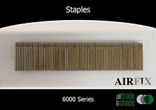 Staples – 6000 (L or 90) Series - Electrogal - Size: 18mm x 5.5mm - Box: 5,000
