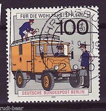 Berlin Nr.  878  gest.  Elektro Paket Zustellwagen um 1930    -3