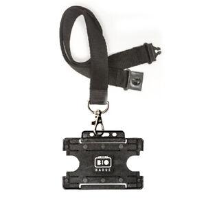 Lanyard Neck Strap Safety Break Away & ID Badge Card Holder | (Choose Pack Size)