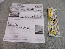 Detail and Scale  decals 1/48 Active Air Force F-106A Delta Darts     P2