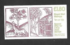 FU6b £1.80 Wolf & Birds Linnean Society Cyl B2 Ref 18113