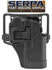 Blackhawk GLOCK 19/23/32/36 Serpa CQC Holster RH 410502BK OWB Belt Paddle