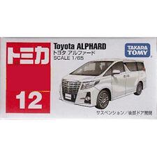 Takara Tomy Tomica #12 Toyota Alphard 1/65 Diecast Toy Car JAPAN Bubble