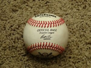 Wilson Official FRONTIER LEAGUE Baseball~GAME USED