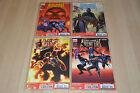 lot 4 albums Uncanny Avengers tomes 6 7 8 9 - Marvel Panini Comics