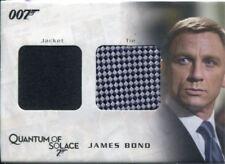 James Bond Archives 2009 Relic / Costume Card QC03 James Bond