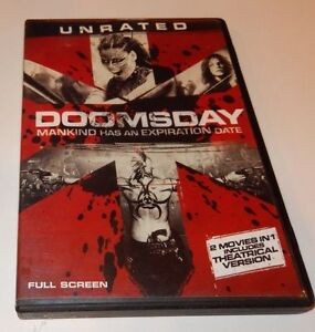 Doomsday (DVD, 2008, Unrated & Theatrical Versions) FS