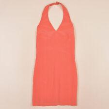 Apart Damen Kleid Dress Gr.36 Impressions Mini 100% Seide Rosatöne, 73895