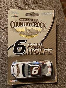 Paul Wolfe 2005 Country Crock 1/64 Nascar Promo Diecast Car